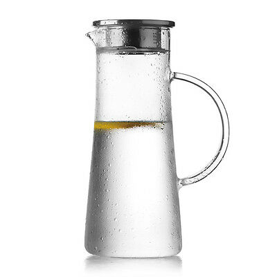 Jug / Pitcher, Clear High Quality Glass, 1.5L, Water /Beer /Soft Drink Fruit