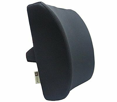 Memory Foam Lumbar Support Lower Back Pain Relief Soft Seat Cushion Mesh Cover