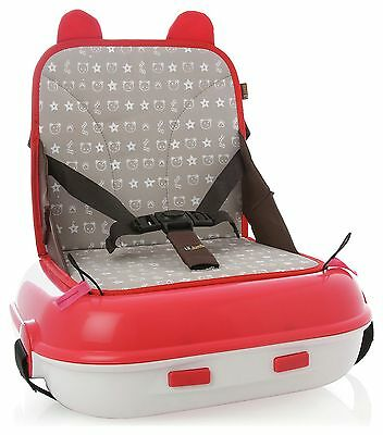 Lil' Jumbl Group 2 Travel Booster Seat - Red -From the Argos Shop on ebay