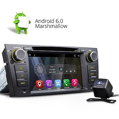 "Perfect For BMW E90 E91 E92 E93 7"" Android 6.0 Car DVD CD Player GPS Rear CAM+ S"