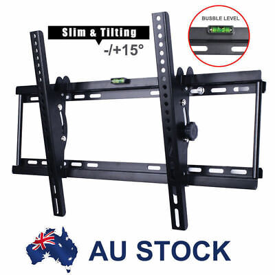 Tilt LED LCD Flat Plasma TV Wall Mount Bracket 32 37 40 42 46 50 55 60 62 65 70