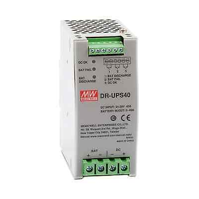 DR-UPS40 DIN Rail DC UPS (Uninterruptible Power Supply) Control Unit 40A