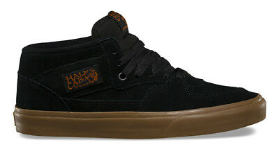 NEW Vans Half Cab Gum Black
