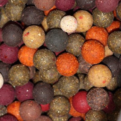 (2,5 EUR pro kg) 10kg Futterboilies Mix 8-20mm