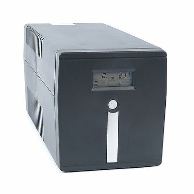 Uninterruptible Power Supply (UPS) with LCD Display 1.0kVA (1kVA)