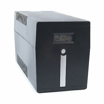 Uninterruptible Power Supply (UPS) with LCD Display 1.5kVA