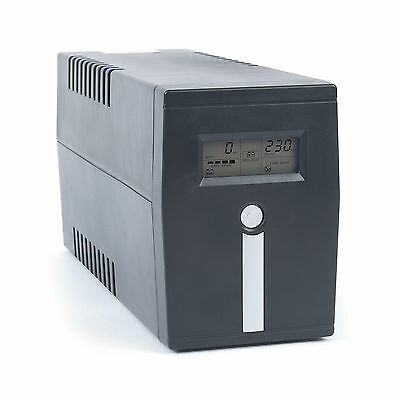 Uninterruptible Power Supply (UPS) with LCD Display 400VA