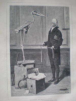Science is Measurement from H S Marks 1879 old print