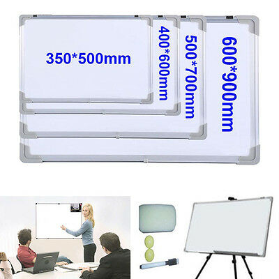 Home & Office & School 4 Sizes Magnetic Whiteboard Dry Wipe Memo Drawing Board