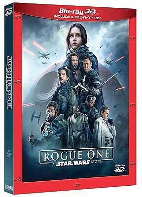ROGUE ONE: A STAR WARS STORY 3D (BLU-RAY 3D + 2D) con Felicity Jones, Diego Luna