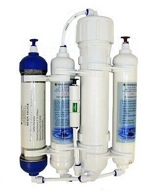 Finerfilters 4 Stage Compact Reverse Osmosis Unit & DI Resin - Tropical/Marine