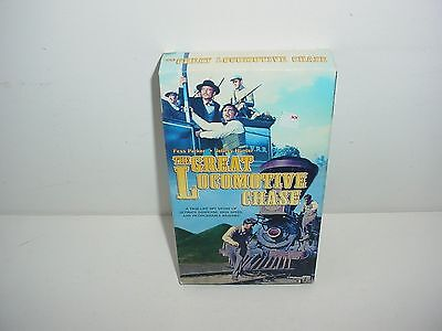 The Great Locomotive Chase VHS Video Tape Movie