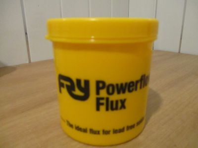 FRY POWERFLOW FLUX 350g IDEAL FLUX FOR LEAD FREE SOLDER
