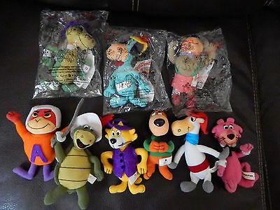 Lot of 9 Dairy Queen CLASSIC TOONS Plush Dolls 1999/2000 Vintage NICE! Free Ship