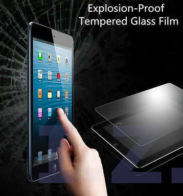 """Uk Premium Genuine Tempered Glass Screen Protector Cover For New Ipad 9.7"""" 2017"""