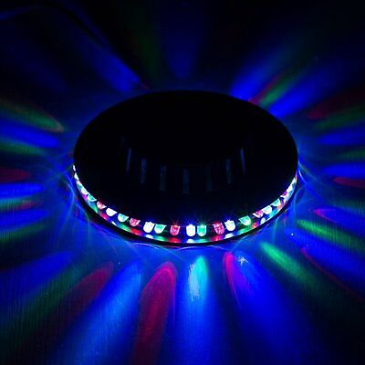Disco 360 degrees lightshow party flashing multi coloured lighting