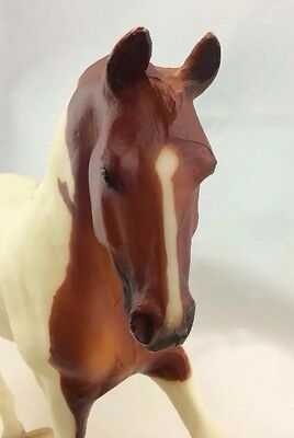 "Vintage BREYER Reeves HORSE PINTO 12"" Inches Long Brown & white - Adorable!"