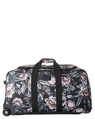 New Billabong Women's Gypsy Raven Check In Travel Bag Pu