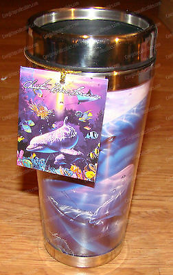 Perfect World Stainless Travel Mug (Dolphin) 16 oz. (Lassen by Westland, 23217)
