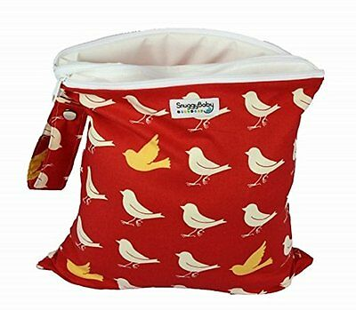 Snuggy Baby Wet/Dry Wet Bag Bird Pattern