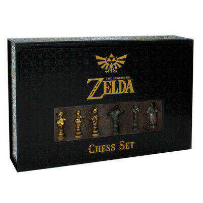 The Legend of Zelda Collectors Edition Chess Set NEW