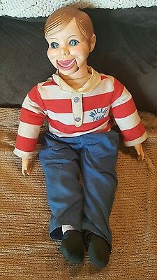 Vintage Willie Talk Ventriloquist Dummy Horsman Dolls - lot k2k