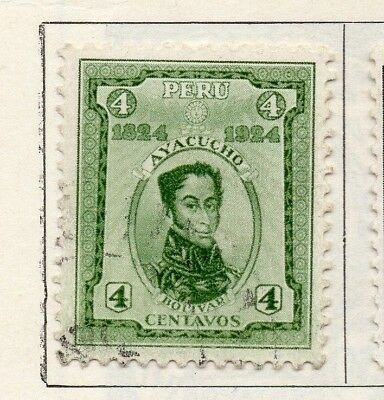 Peru 1924 Early Issue Fine Used 4c. 148249