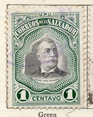 Salvador 1906 Early Issue Fine Used 1c. 148263