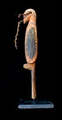 Rare Abelam Yam Bird Adornment Carving Papua New Guinea Oceania
