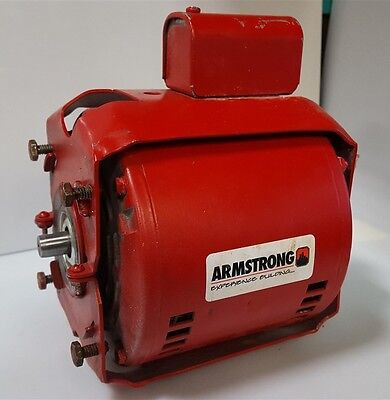 Armstrong 805316-010 In-Line Circulator Pump Motor For S-25 1/12HP 115V CCW Rot