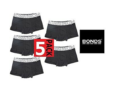 5 x BONDS BOYS ACTIVE PLAY TRUNK Underwear Brief Shorts Kids Wideband CLEARANCE