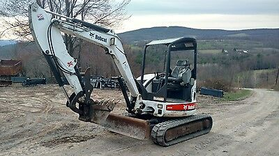 Bobcat 430G Excavator W/ Thumb! Only 1200 Hrs Ready 2 Work! We Ship Nationwide!
