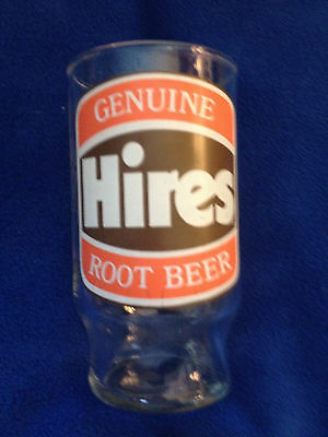 Hires Root Beer Glass - A Part Of History !