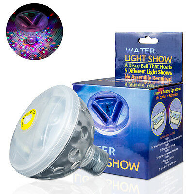 Floating Underwater LED Light Show Bath SPA Tub Swimming Disco Pool Party Lights