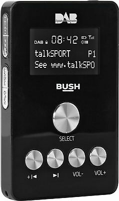 Bush Portable Handheld DAB Radio - Black - From the Argos Shop on ebay