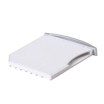 White MicroSD Card Adapter TF to SD Adapter Connector For MacBook Air