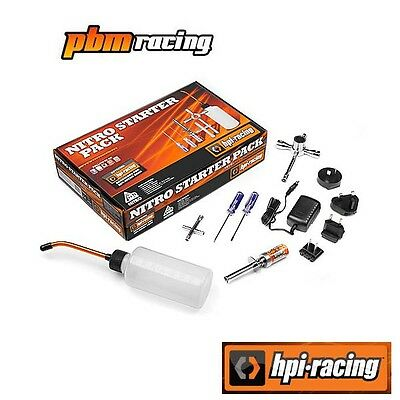 HPI Racing Nitro Starter Pack Glow Starter Fuel Bottle 2x Screwdriver 2x Wrench