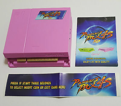 Pink Jamma Board VGA HDMI Output PCB  680 IN 1 Pandora Box 4S Multi Arcade Games