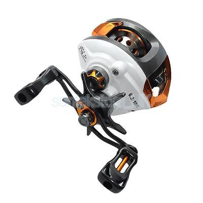 12+1 BB Magnetic Baitcasting Fishing Reel Right Left Hand Baitcaster Lure Tackle