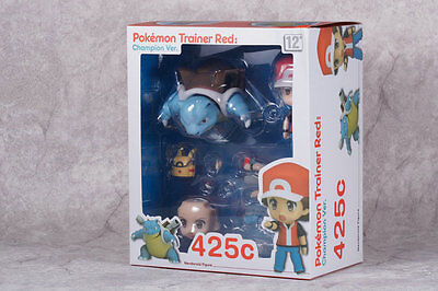 Pokemon 20th Anniversary Trainer Red Champion Ver. Nendoroid 425c PVC Figure