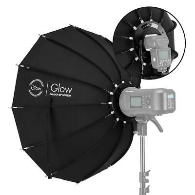 "Glow ParaPop 28"" Portable Softbox With Bowens Mount Adapter #GL-SBSM28PP"