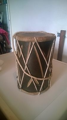Small Bongo Drum 8 Inches High by 5.5 Inches Diameter