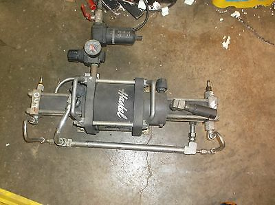 HASKEL GAS BOOSTER MODEL AGT-30 Two Stage pump
