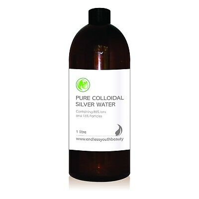 Colloidal Silver Water 85% Ions 15% Particals 15 ppm Australian Made