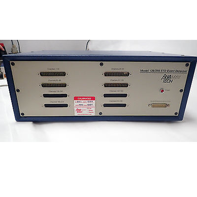 Analysis Tech 128Std Transient Resistance Event Detector 120Vac, 60Hz, 3 Amps