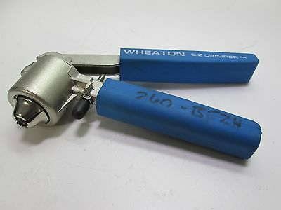 Wheaton E-Z Crimper 8mm Open Capper/Seals Hand-Crimper
