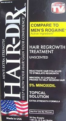 Hair-DRx- Men's Extra Strength Hair Regrowth Treatment