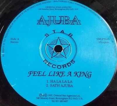Ajuba - Feel Like A King - Star Records Bhangra Music SRLP 5145