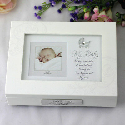 Personalised Baby Music Box Gift - Add a Name & Message