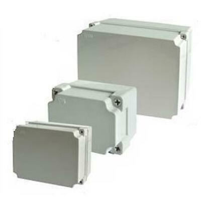 Outdoor Weatherproof PVC Adaptable IP56 Junction Box Enclosure All Sizes